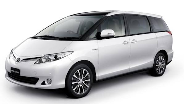 Toyota Tarago 8 Seater - Mini Van Rental Vehicle