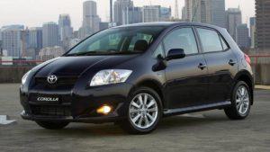 Corolla Hatchback for rent